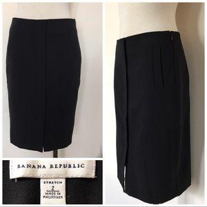 BR black pencil skirt career work